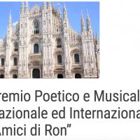 """Al via la sesta edizione del Premio Poetico """"Amici di Ron"""""""
