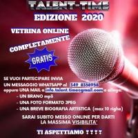 TALENT-TIME 2020 VETRINA CANORA COMPLETAMENTE GRATIS