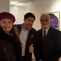 L'artista di Spoleto Arte Giuliana Maddalena Fusari al Tgcom24