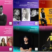 """C.L.A.S.S. lancia SMART VOICES, il programma di talk per condividere idee, esperienze, storie e innovazioni capaci di """"scuotere"""" il sistema moda con un atteggiamento responsabile"""