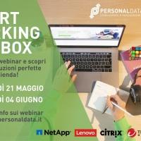 Personal Data: Webinar Smart Working in a box - Proposta soluzioni in bundle per il lavoro agile