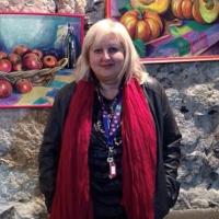 """Tgcom24: l'artista Laura Bruno di Spoleto Arte incanta con """"Gocce di pensieri"""""""