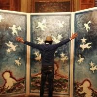 """Il pittore Marcello Vandelli di Spoleto Arte al Tgcom24 con """"Segrete premeditazioni"""""""