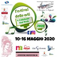 I vincitori del Festival delle Arti V Edizione sul Web Noi per Napoli 2020