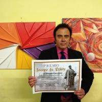 Massimo Paracchini consegue il Premio Jacopo da Ponte