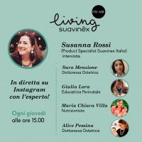 Living Suavinex On Air: una serie di dirette Instagram con gli esperti del mondo della puericultura dedicate alle mamme e a tutta la famiglia
