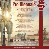 Presentata da Vittorio Sgarbi, la Pro Biennale nel cuore di Venezia