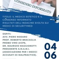 TRASMISSIONE IN DIRETTA FB DEDICATA ALLA MEDICINA ESTETICA E AL CONSENSO INFORMATO