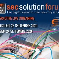 secsolutionforum non si ferma e continua a formare: la mostra convegno dedicata alla sicurezza diventa digitale