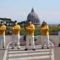 Roma:  i Ministri Volontari di Scientology istruiscono la comunità sulla prevenzione al contagio