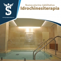 Idrokinesiterapia | Piscina per la riabilitazione al Poliambulatorio Sanem