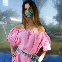 Dalla veletta alla face mask: Fabiana Gabellini rende estremamente glamour un indispensabile accessorio