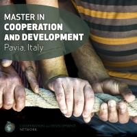 Master in Cooperazione e Sviluppo a Pavia