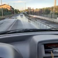 Carlo Spinelli IDD denuncia grosse perdite di acqua su via di vermicino