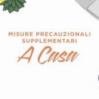 COVID 19: MISURE PRECAUZIONALI SUPPLEMENTARI A CASA