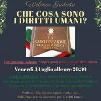 Costituzione della Repubblica Italiana e Diritti Umani