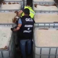 """Enorme carico della """"droga dell'ISIS"""" sequestrato a Salerno"""