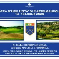 Country Club Castelgandolfo |  Coppa d'Oro Città di Castelgandolfo dal 13 al 15 Luglio