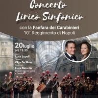 I lirici di Noi per Napoli in Concerto con la Fanfara dei Carabinieri di Napoli in San Lorenzo Maggiore