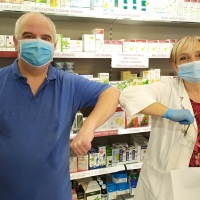 Prodotti farmaceutici donati alla Caritas per la salute dei bisognosi