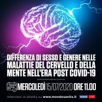 Differenza di sesso e genere nelle malattie del cervello e della mente nell'era post Covid-19