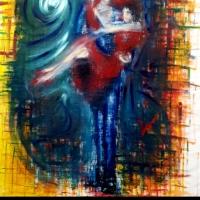La carica di vitalità e di energia della pittura di Davide Romanò