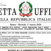 L'Avvocato Nicola Bruno sul Decreto Cura Italia