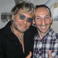 Luca Maris fa gli auguri di compleanno al Maestro Tony Esposito per i suoi 70 anni