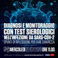 Diagnosi e monitoraggio con test sierologici nell'infezione da SARS-CoV-2