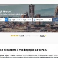 Depositare i bagagli a Firenze grazie a Stasher.com in assoluta sicurezza e comodità