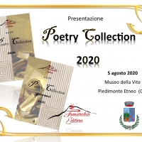 Presentazione dell'antologia poetica Poetry Collection 2020: il 5 agosto a Piedimonte Etneo