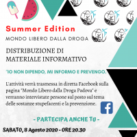 Summer edition: distribuzione di materiale informativo a Jesolo