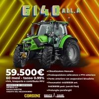 Promo Deutz-Fahr 6140: elevata tecnologia al tuo servizio grazie agli incentivi