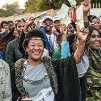 """Il libretto """"La Via della Felicità"""" protagonista in Sud Africa"""