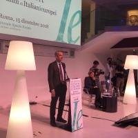 Mario Hubler introduce il secondo webinar della fondazione Italianieuropei