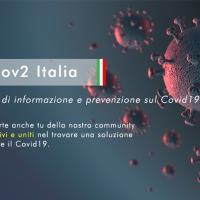 Nasce Sars-Cov-2 Italia: community di informazione e prevenzione sul Covid19