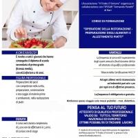 Puglia, corso triennale di operatore della ristorazione a Il Tratto di Unione a Bari