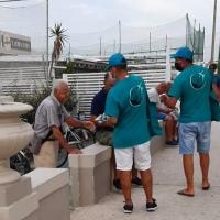 Senigallia: consegnati mano su mano più di 500 opuscoli di prevenzione