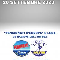 "Elezioni Regionali 2020: intesa ""Pensionati d'Europa"" e Lega"