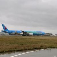Arrivato a Londra il primo aereo al mondo a tema CIIE lanciato da China Eastern Airlines