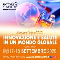 Summer School 2020 Innovazione e salute in mondo globale' - 17-18 Settembre, ORE 10