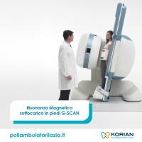 Risonanza magnetica aperta sotto carico in piedi  G SCAN | Poliambulatorio Sanem Somalia a Roma