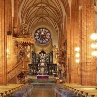 Filippo Manelli: cattedrale di Stoccolma, incredibile costruzione originale del XIII