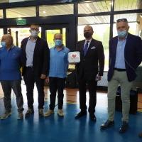 Un nuovo defibrillatore per il PalaMecenate