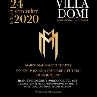 MARCO MADDALONI CHARITY PER IL CARDARELLI DI NAPOLI