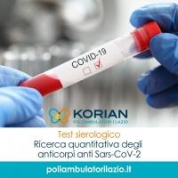 Test sierologico a Roma prenota presso uno dei Poliambulatori Korian Lazio