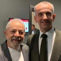 Il volto disumano della globalizzazione: Mario Hubler incontra Lula ex presidente brasiliano