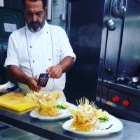 Con lo chef Daniele Unione la cucina gourmet per una crociera