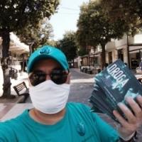 Porto San Giorgio – raggiunta da centinaia di opuscoli di prevenzione alla droga.   Questa settimana parliamo di Marijuana!