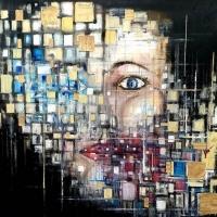 Il mondo nascosto nella pittura di Davide Romanò